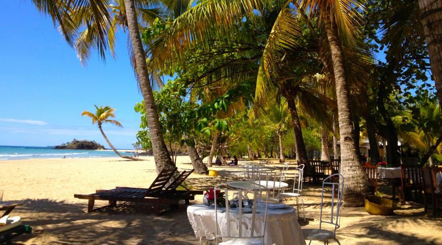 ristorante sulla spiaggia di Andilana