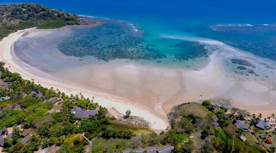 Spiaggia di Andilana veduta aerea