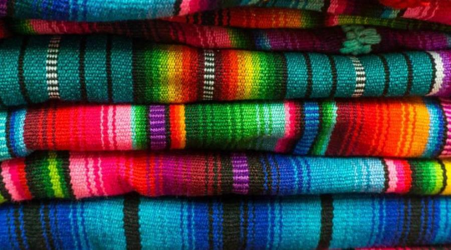 Tessuti al mercato di Masaya