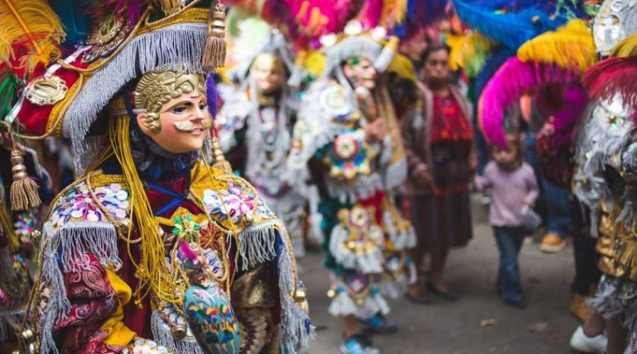 Festival a Chichicastenango