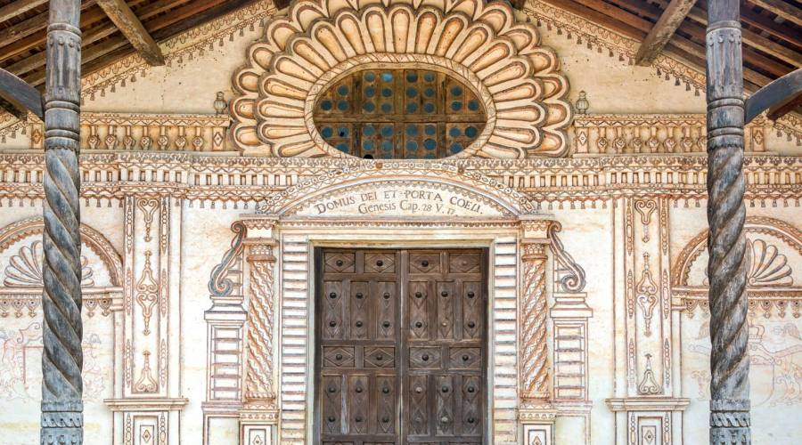 Facciata delle chiesa di San Javier