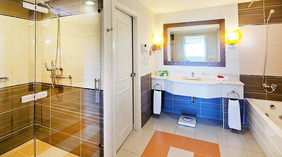 Bagno camera Junior suite
