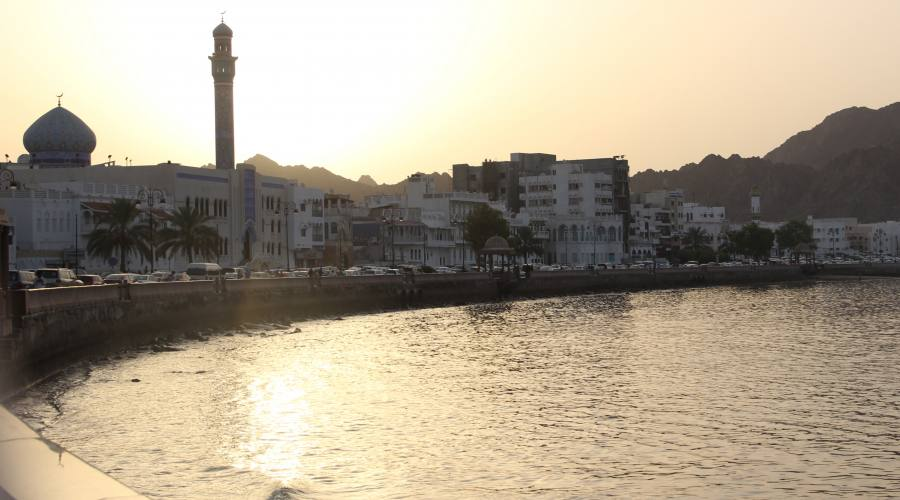 Muscat by nght