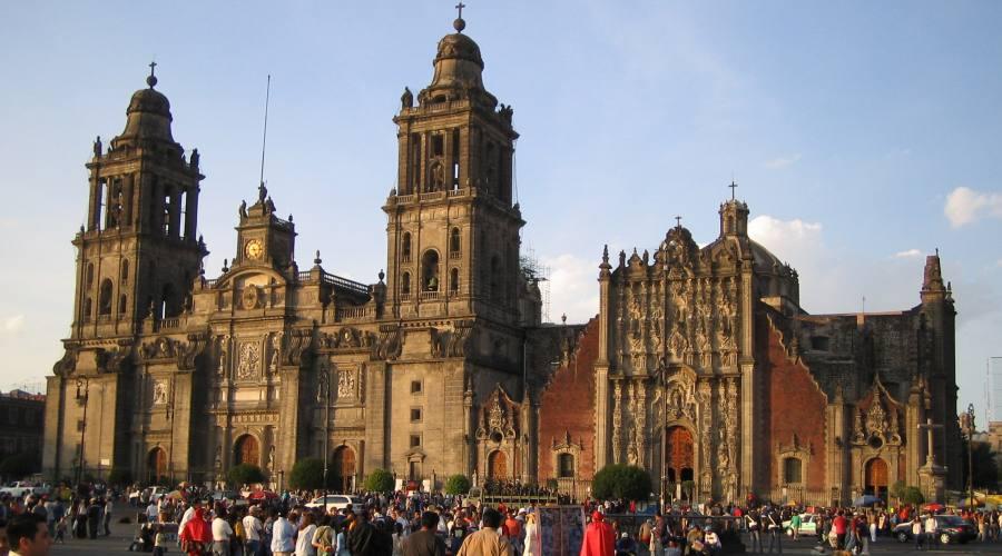 1° giorno: arrivo a  Citta' del Messico, Chapas