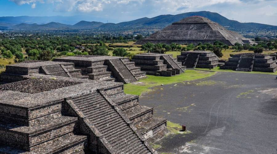 2° Giorno: Sito di Teotihuacan, Citta' del Messico
