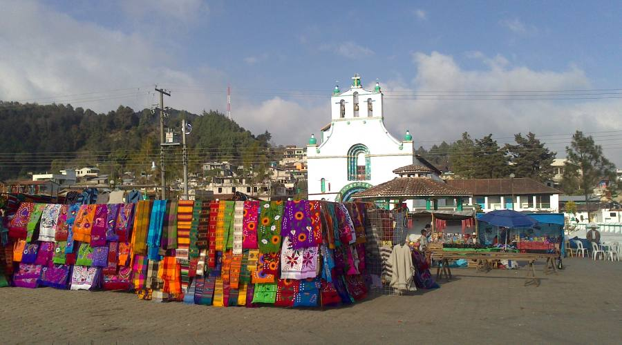 7°giorno: Mercato Indigeno di San Juan Chamula, Chapas