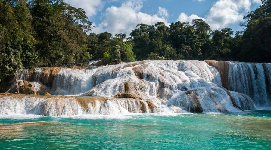 8° giorno: Agua Azul, Chiapas