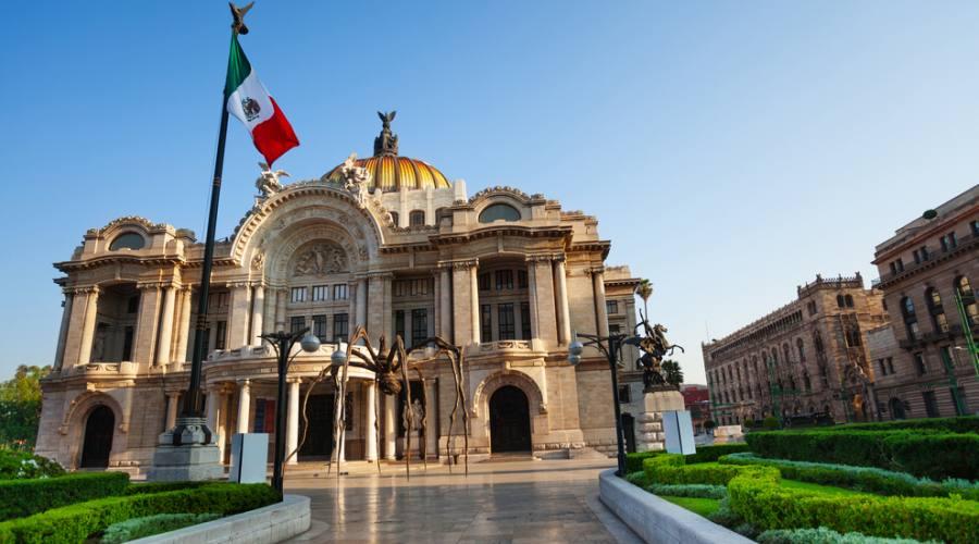 1° giorno: arrivo a Citta' del Messico