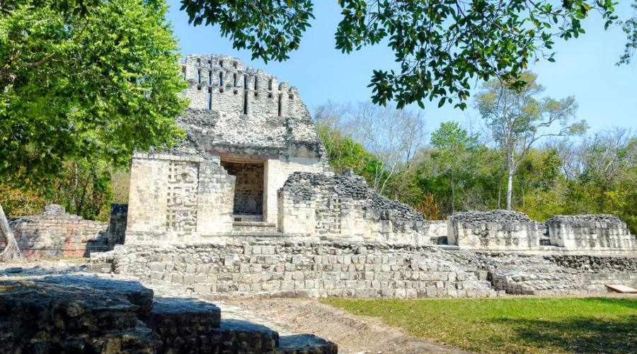 9° giorno: sito Archeologico di Chicannà, Campeche