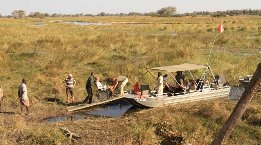 Imbarcazione accessibile