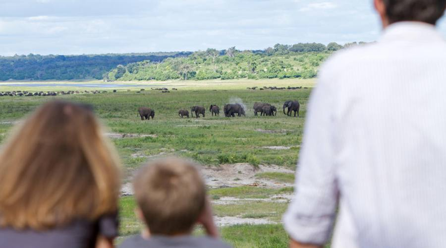 Vista dal Chobe Game Lodge