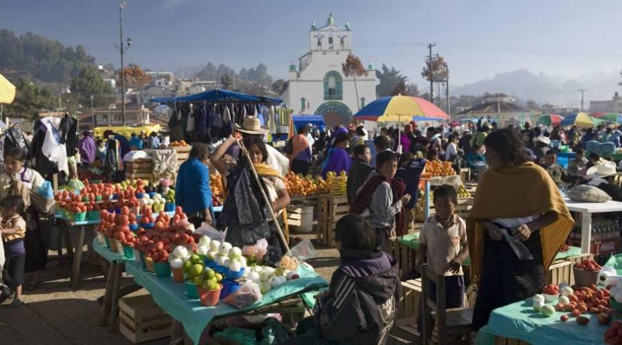 mercato indigeno di San Juan Chamula
