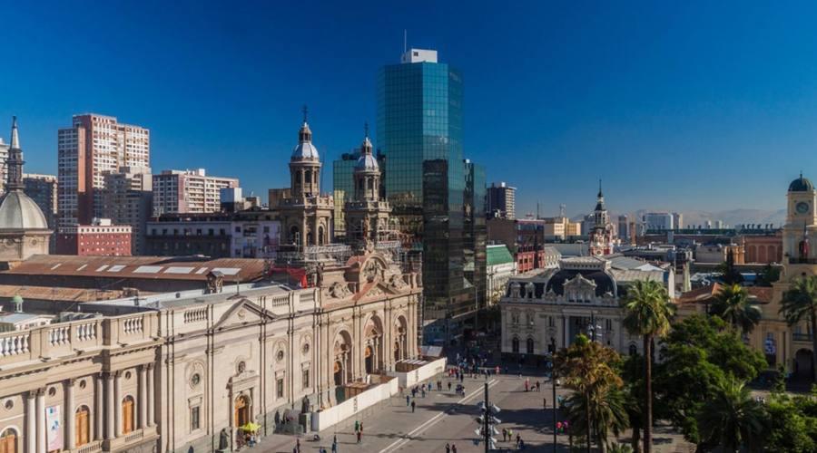 Santiago, plaza de Armas