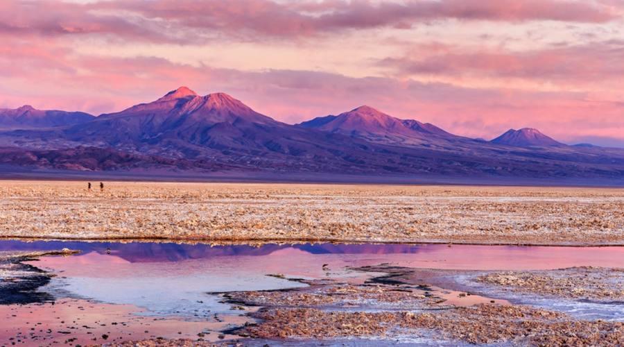 Laguna, deserto di Atacama
