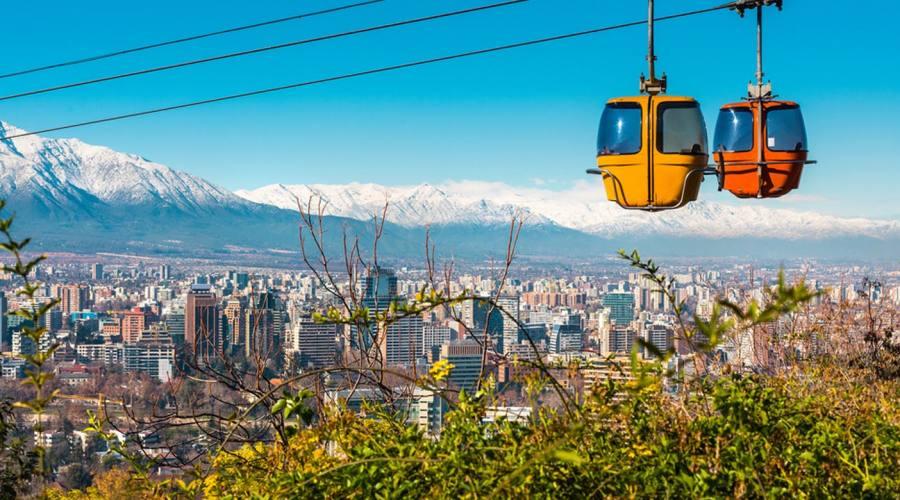 Santiago del Cile, cabinovia