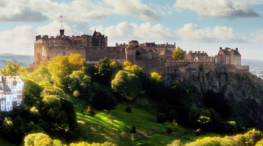 Edimburgo il castello