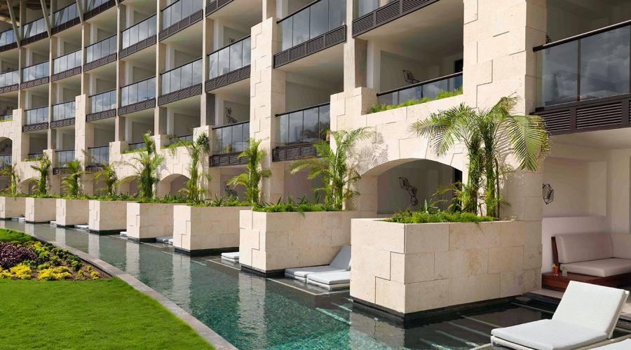 Unico Hotel: Camera accesso piscina