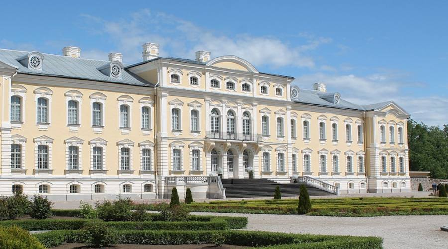 rundale palace RIGA