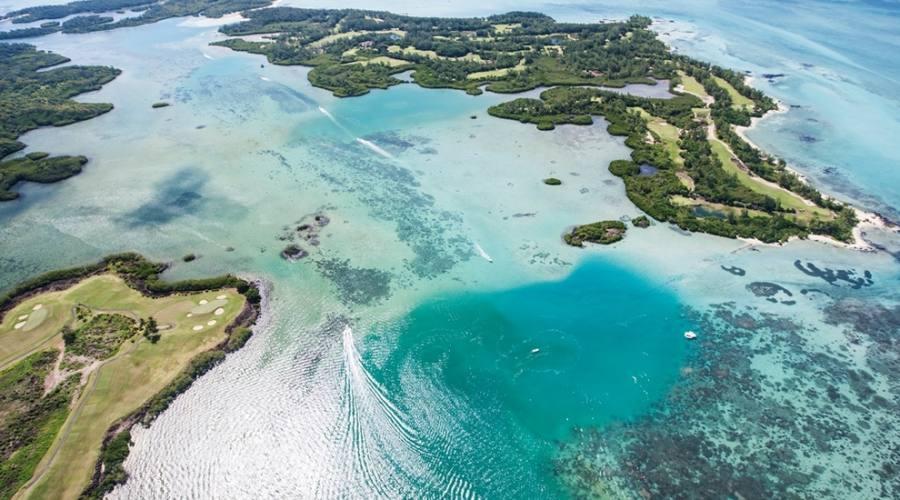 Vista aerea Ile aux Cerfs