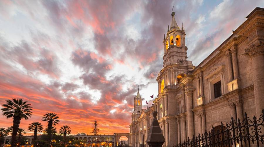 Arequipa, la cattedrale