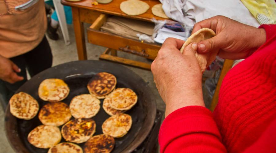 Tortillas al mercato