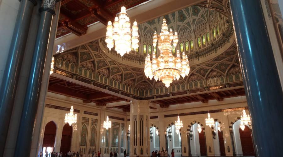 la Grande Moschea dell'Oman