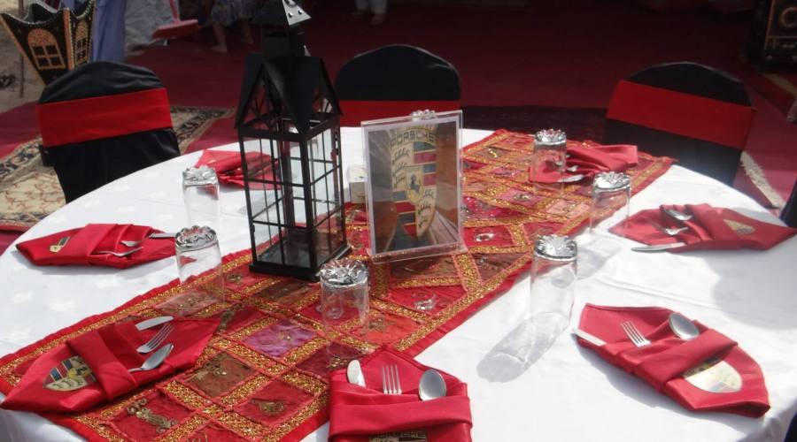 A tavola nel deserto di Wahiba