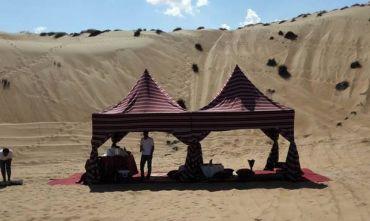 Essenze omanite fra relax e avventura con pernottamento in tenda nella baia di Khaluf