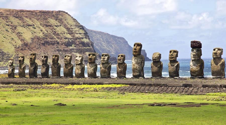 Ahu Tongariki, il più grande sito archeologico dell'isola