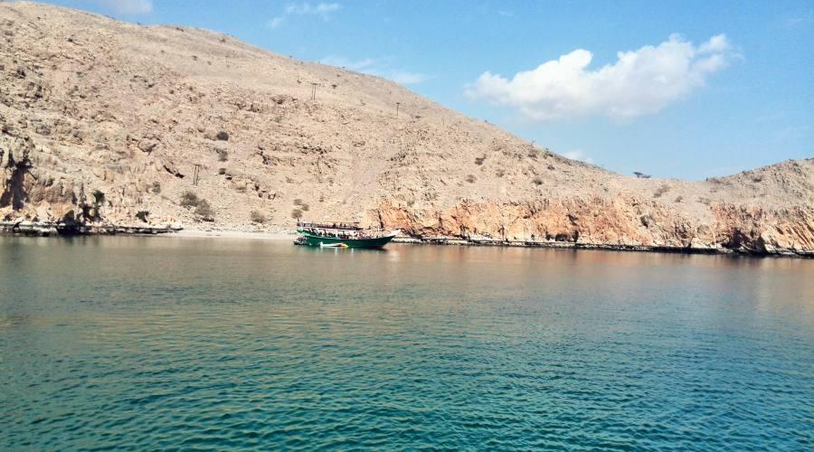 Acque cristalline dell'Oman