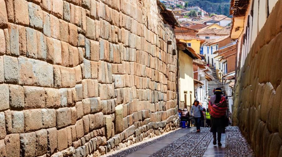 Strada tipica di Cusco