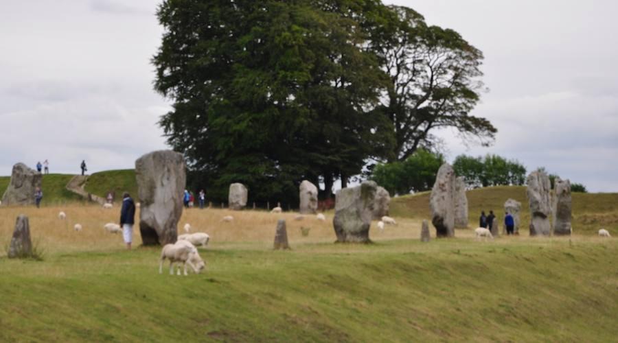Avebury blocchi di 5000 anni fa