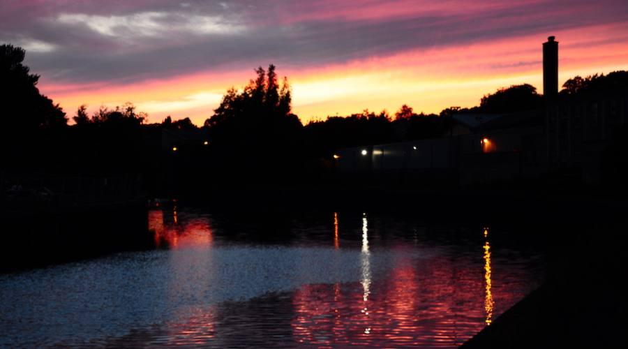 Bath al tramonto