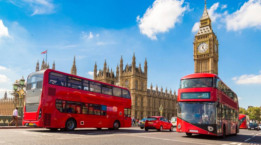 Londra Big Ben e Westminster