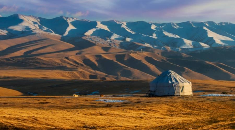 Steppa del Kazakhzstan