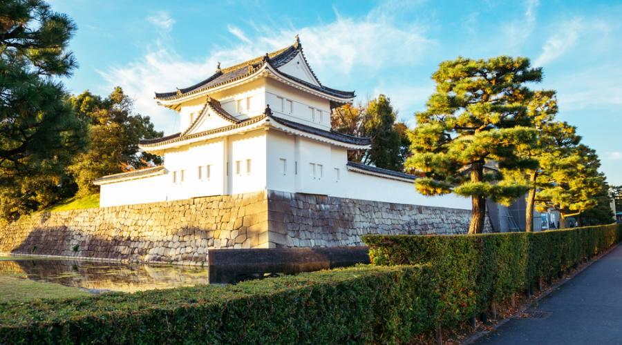 Castello Nijo a Kyoto