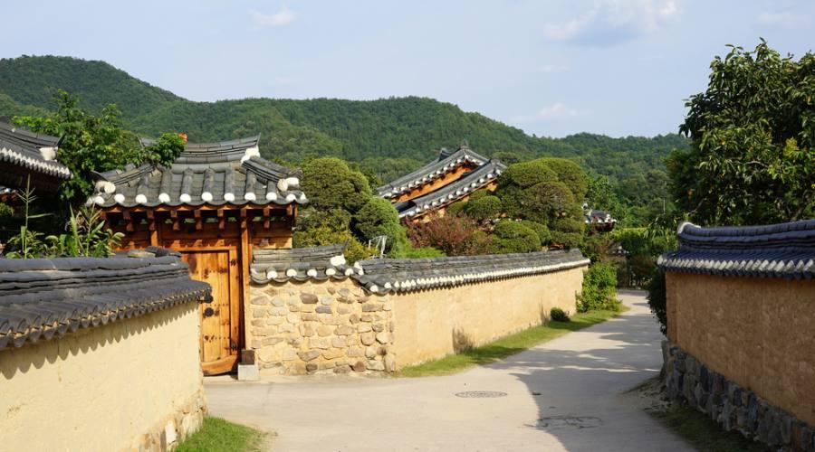 Antico villaggio Coreano