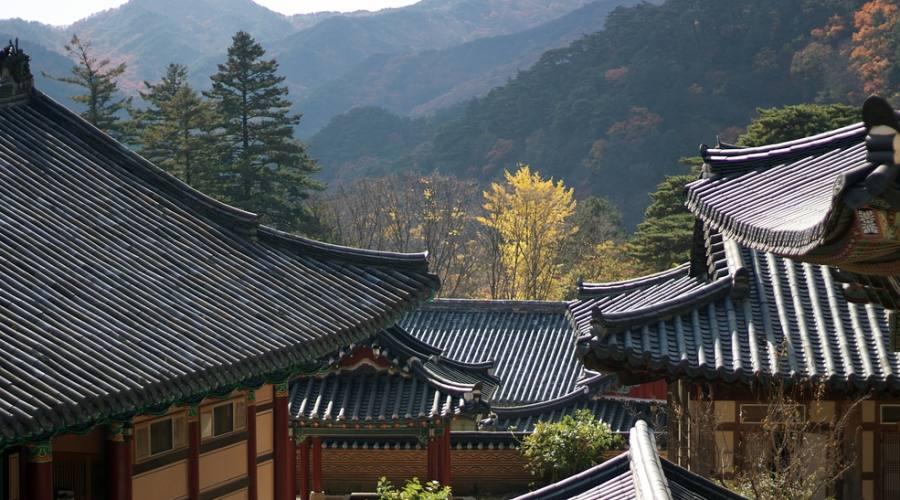 Monte Gaya - Tempio Haeinsa