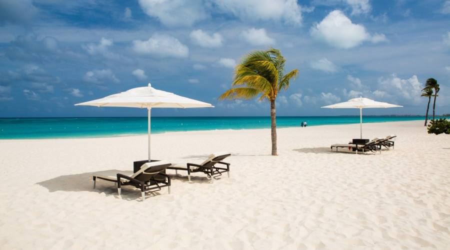La spiaggia del Bucuti & Tara Beach Resort