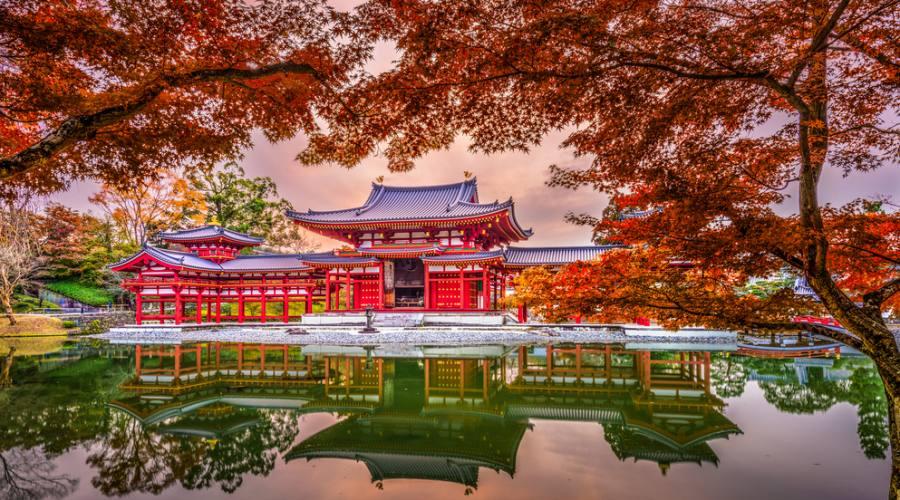 Tempio Byodoin a Kyoto