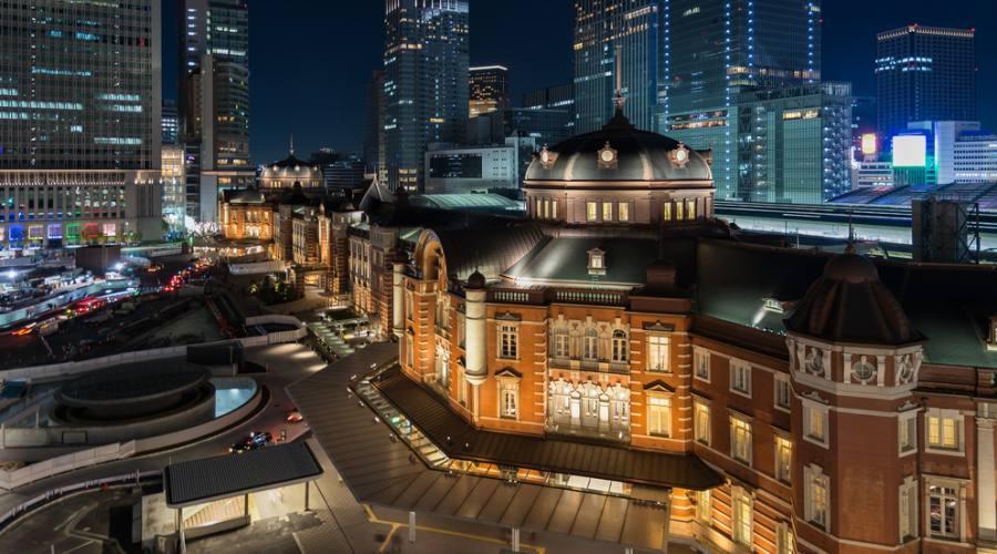 La stazione di Tokyo