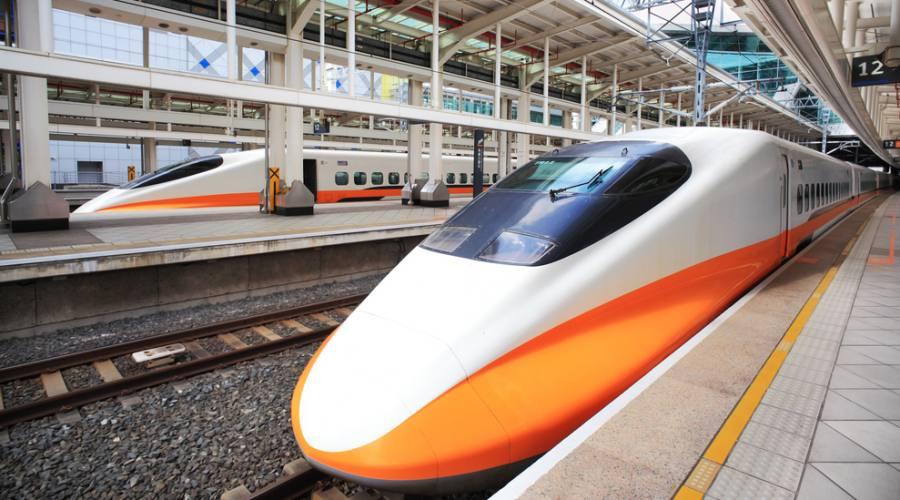 Uno dei treni su cui viaggerete