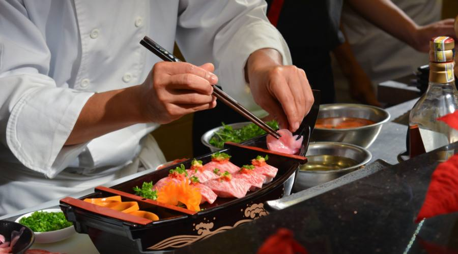 Sushi con carne di Kobe