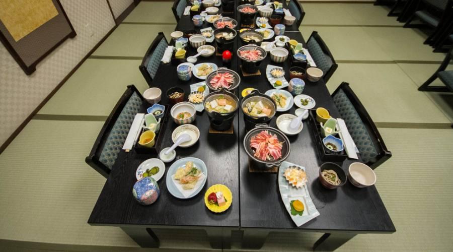 La cucina tipica kaiseki