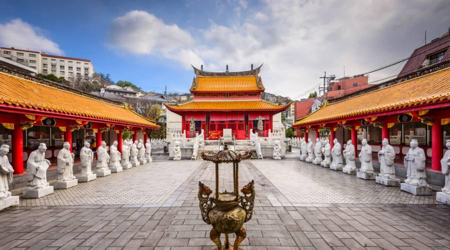 Il santuario di Confucio a Nagasaki