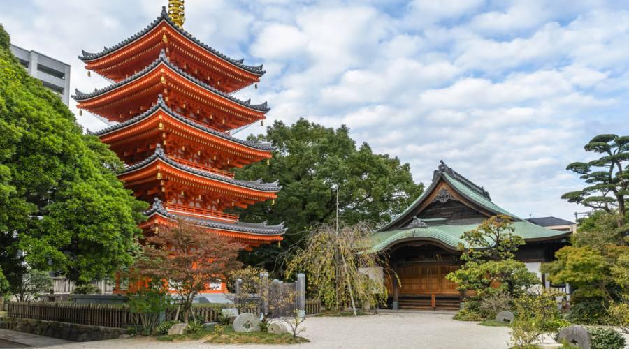 Tempio Tocho-ji di Fukuoka