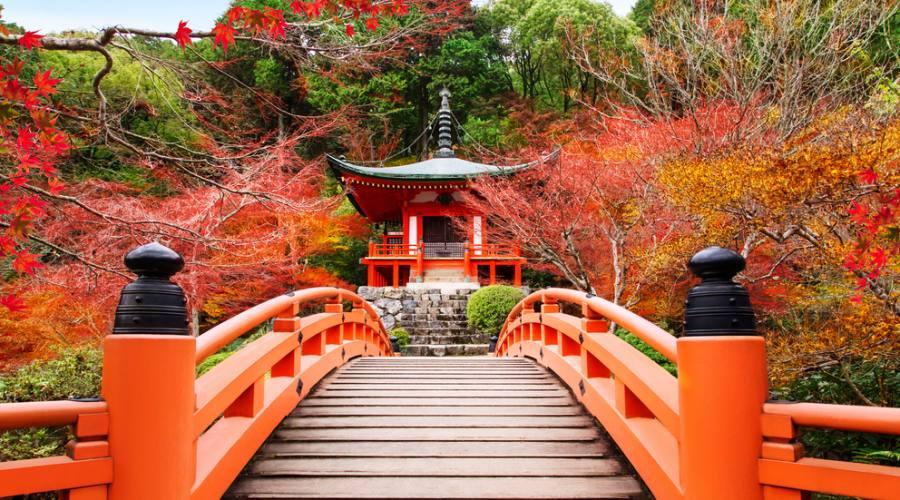 Il tempio Daigoji a Kyoto
