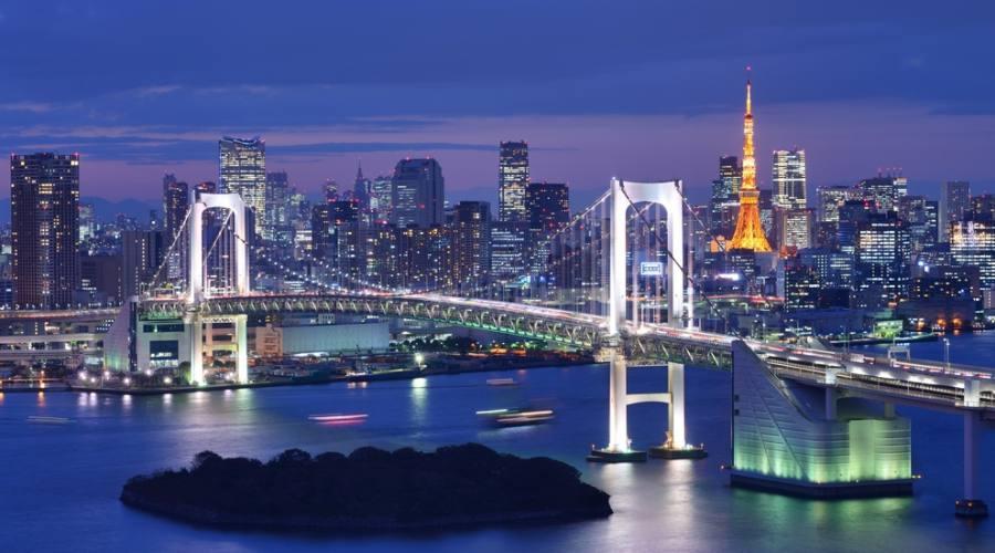 La baia di Tokyo