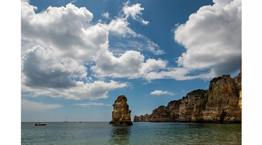 Cielo e mare in Algarve