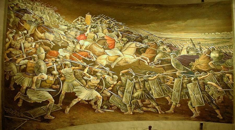 Dipinto della battaglia